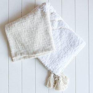 Natural Throw Blanket
